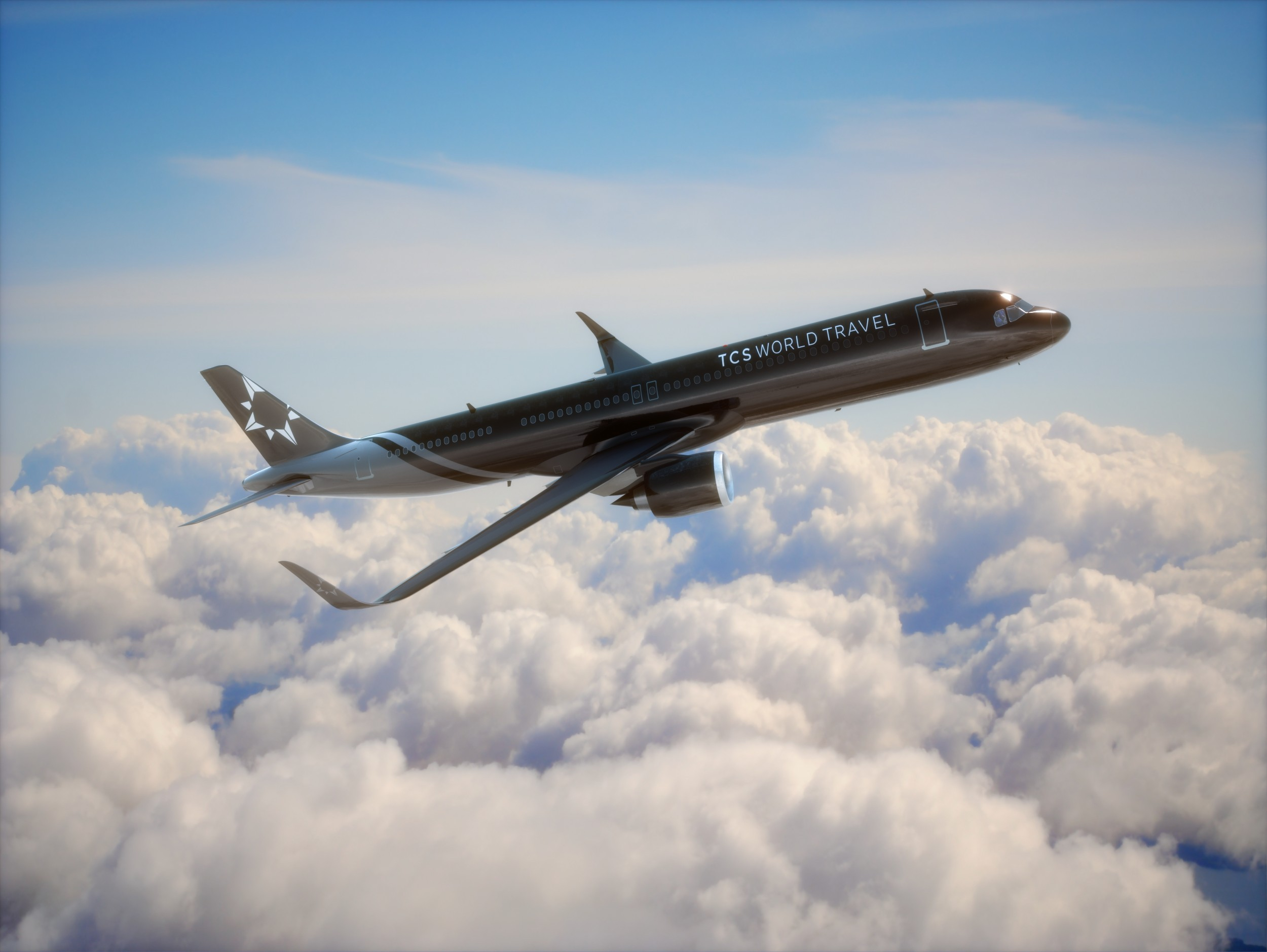 """Travelers Can Explore Nine Legendary Destinations On TCS World Travel's """"Around The World"""" Luxury Jet Tour In New Customized Airbus A321neo-LR Aircraft."""