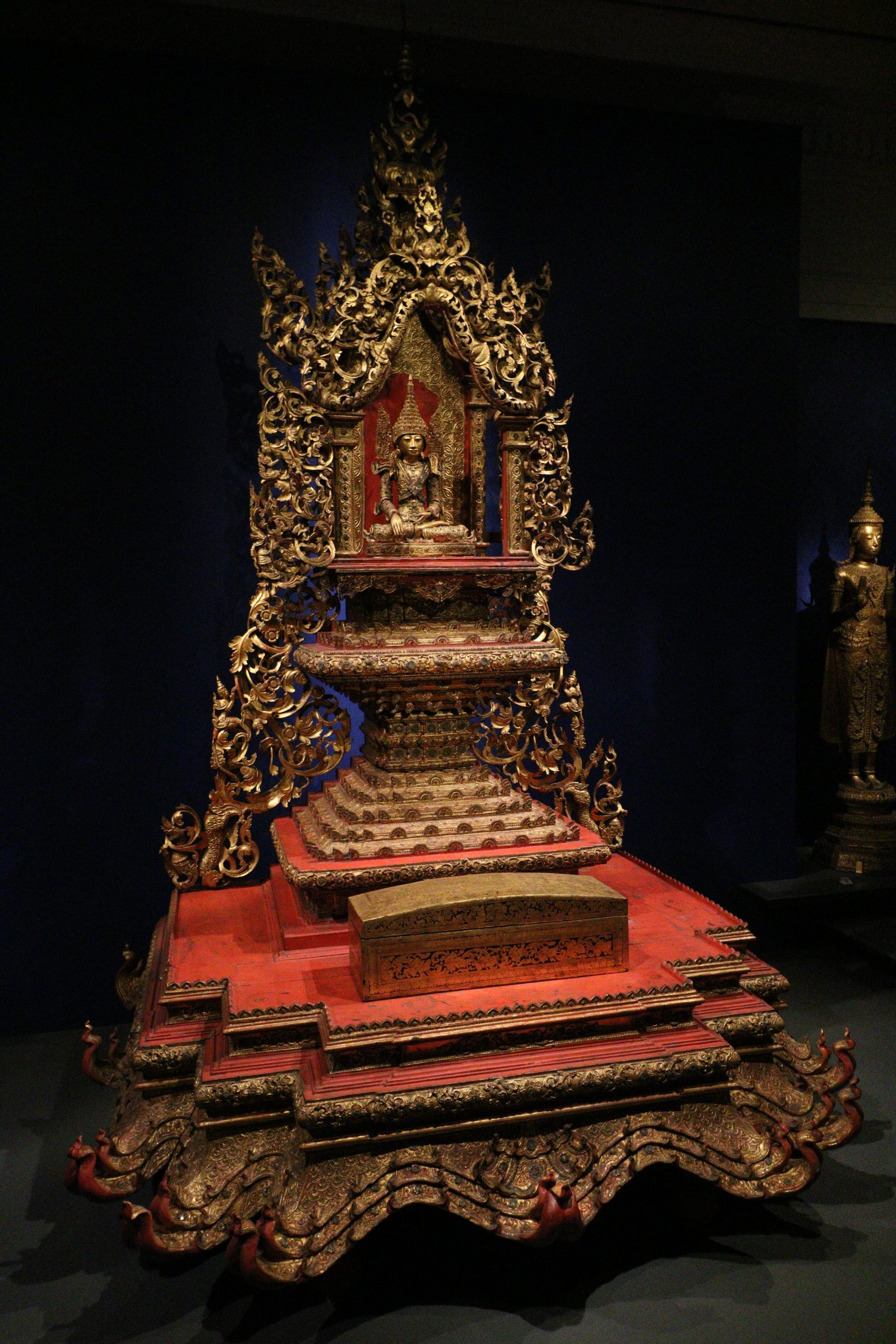 Throne for Buddha, San Francisco Asian Art Museum