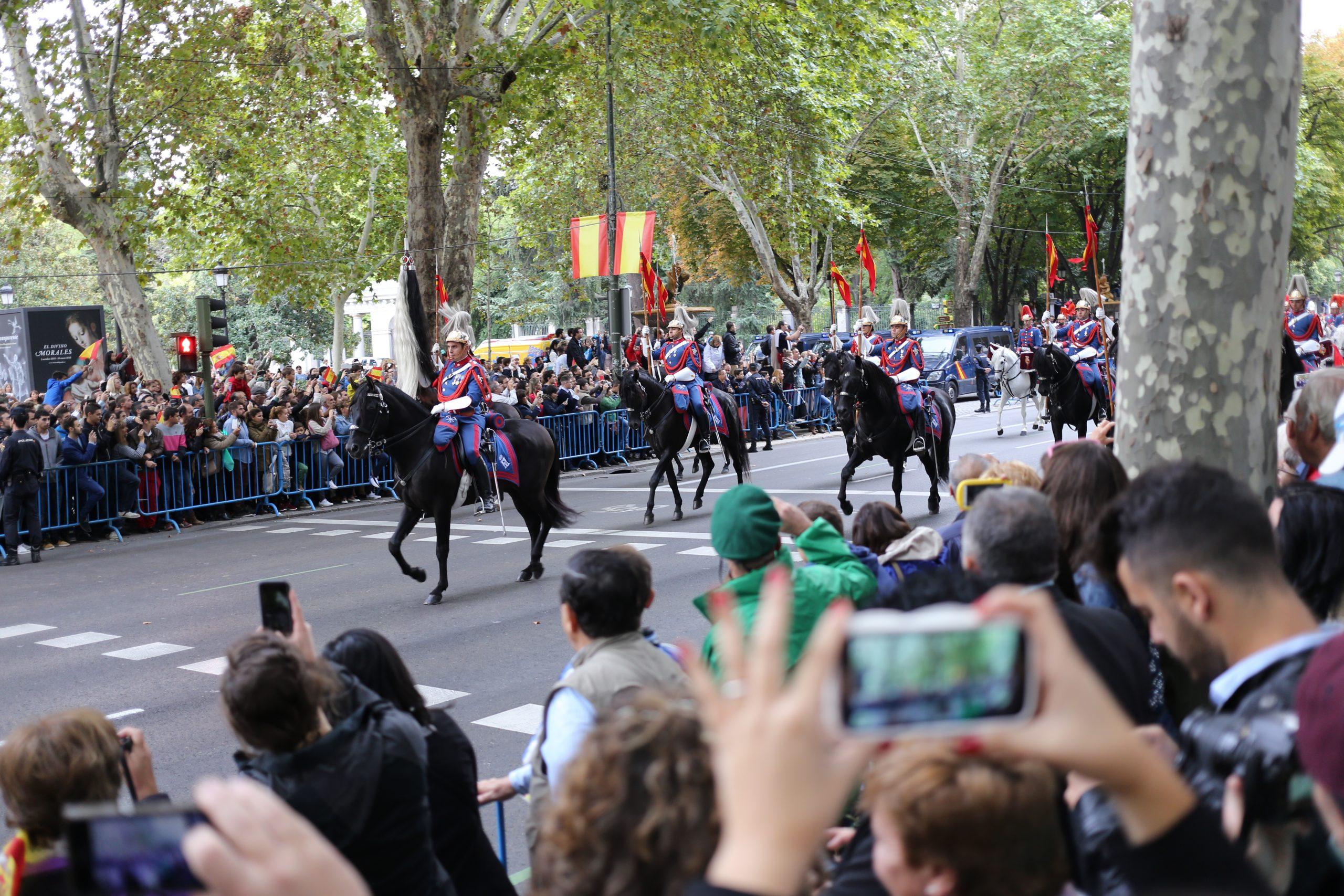 The National Day of Spain (Fiesta Nacional de España) Held Annually on October 12