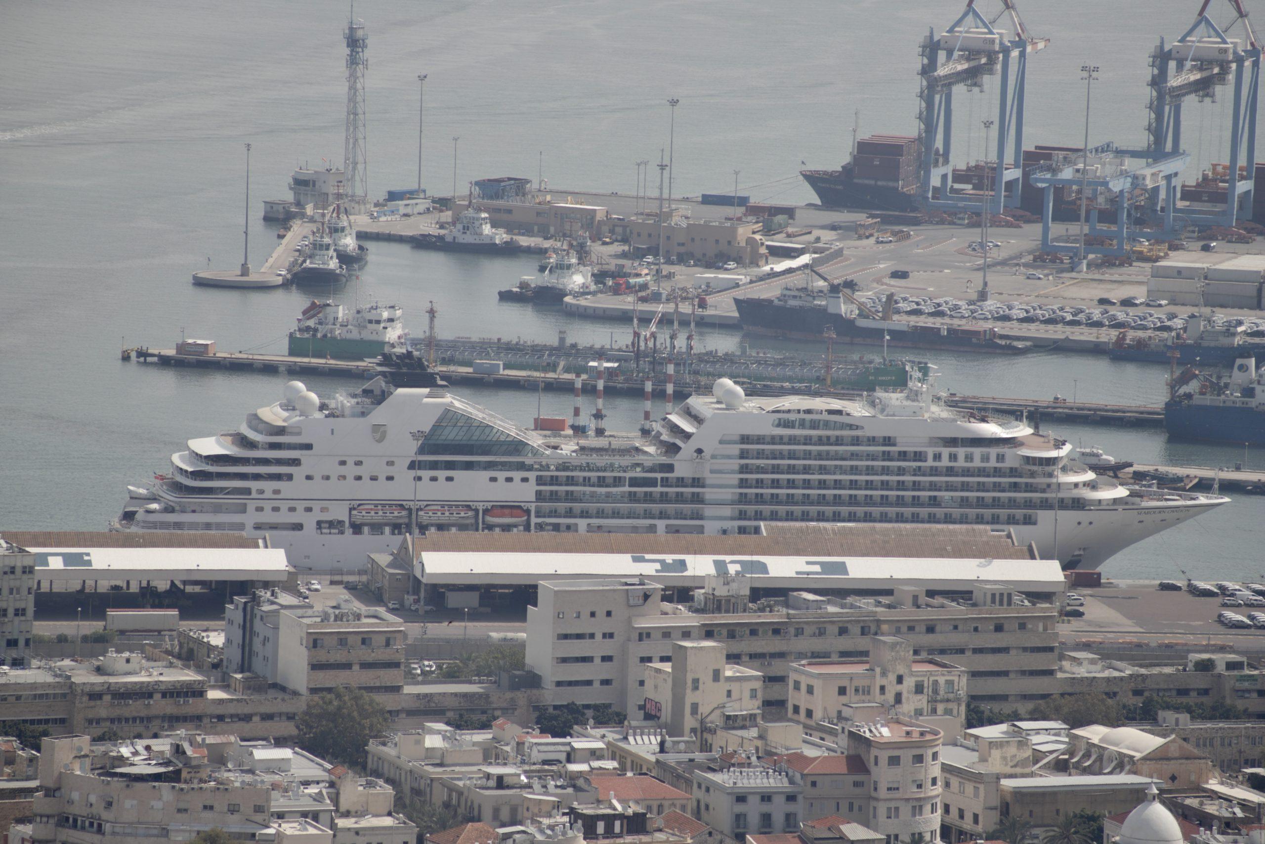 Seabourn Ovation on Mediterranean Cruise