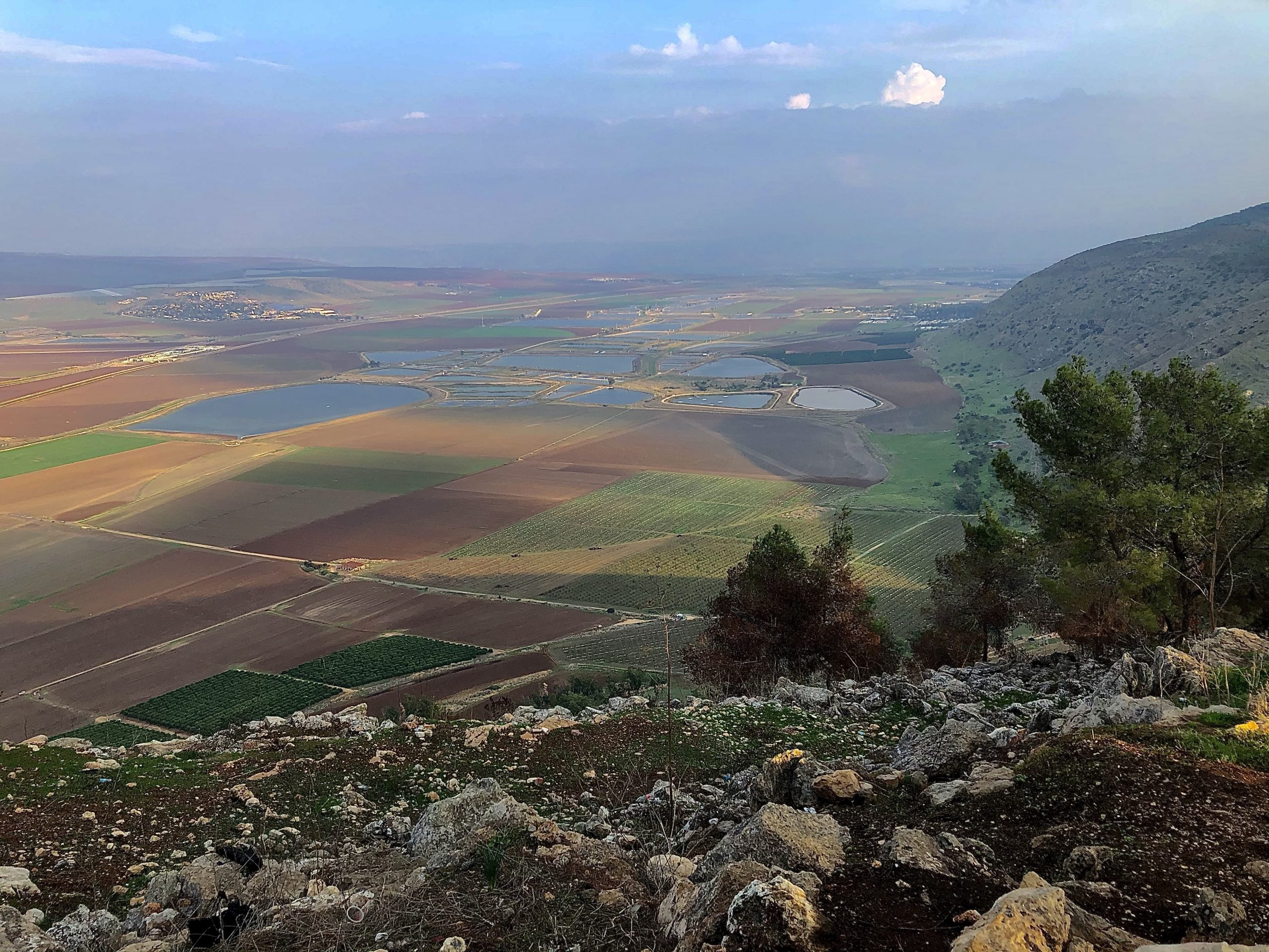 Jezreel Valley also known as the Valley of Megiddo