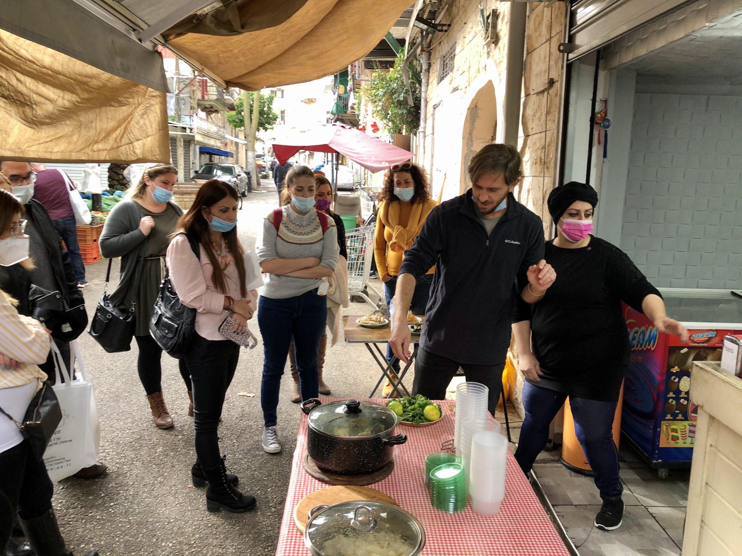 Food tours resume in Wadi Nisnas, Haifa