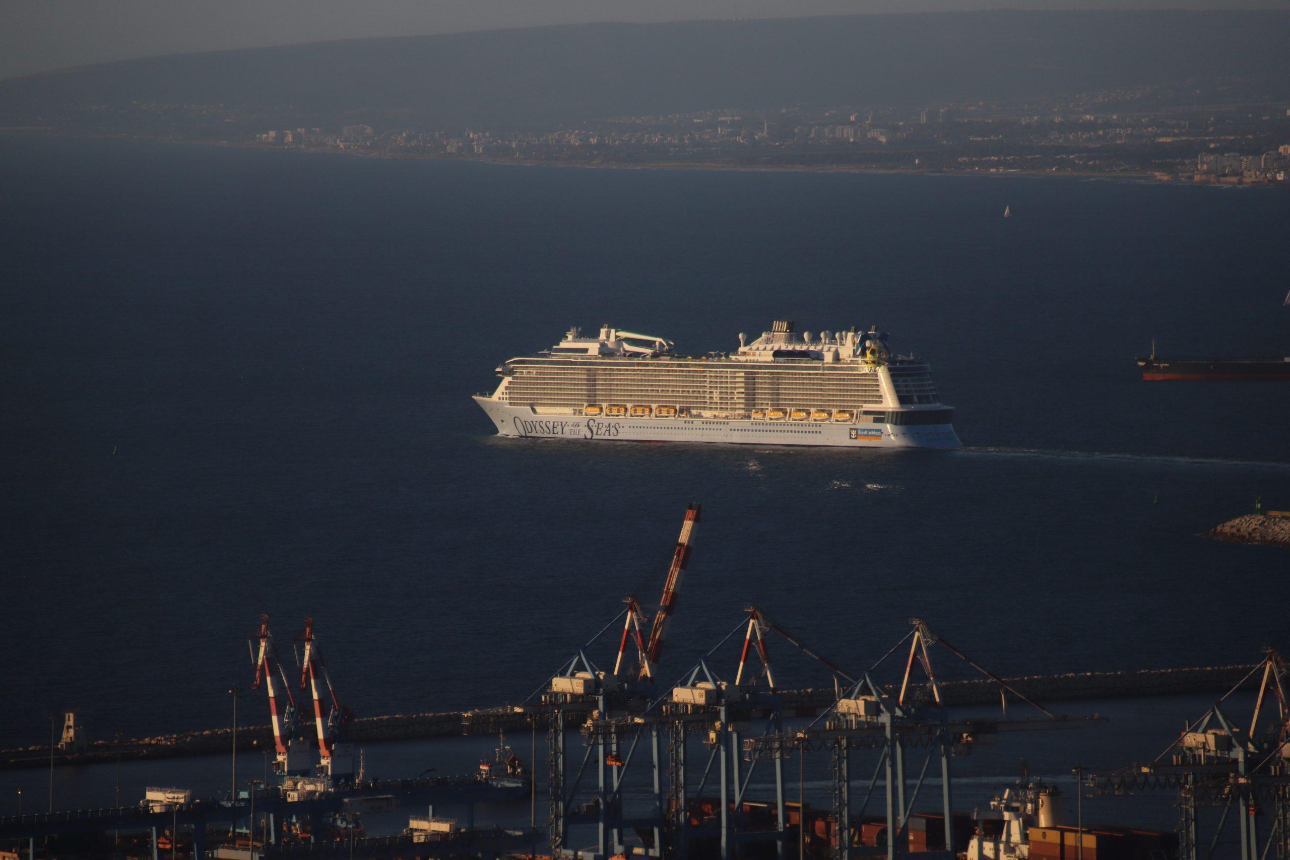 Odyssey Of The Seas Leaves Haifa for Limassol, Cyprus