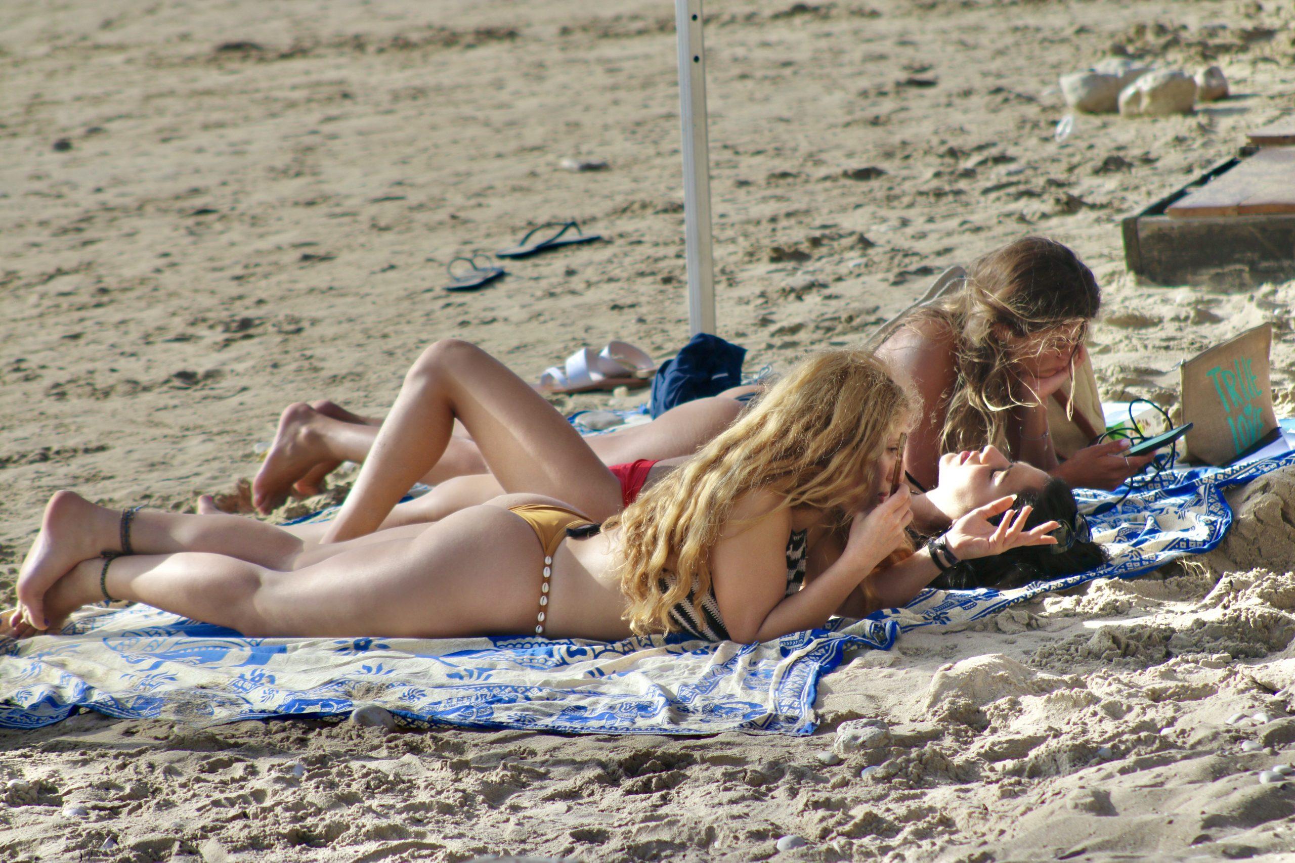 Beach season opens in Europe