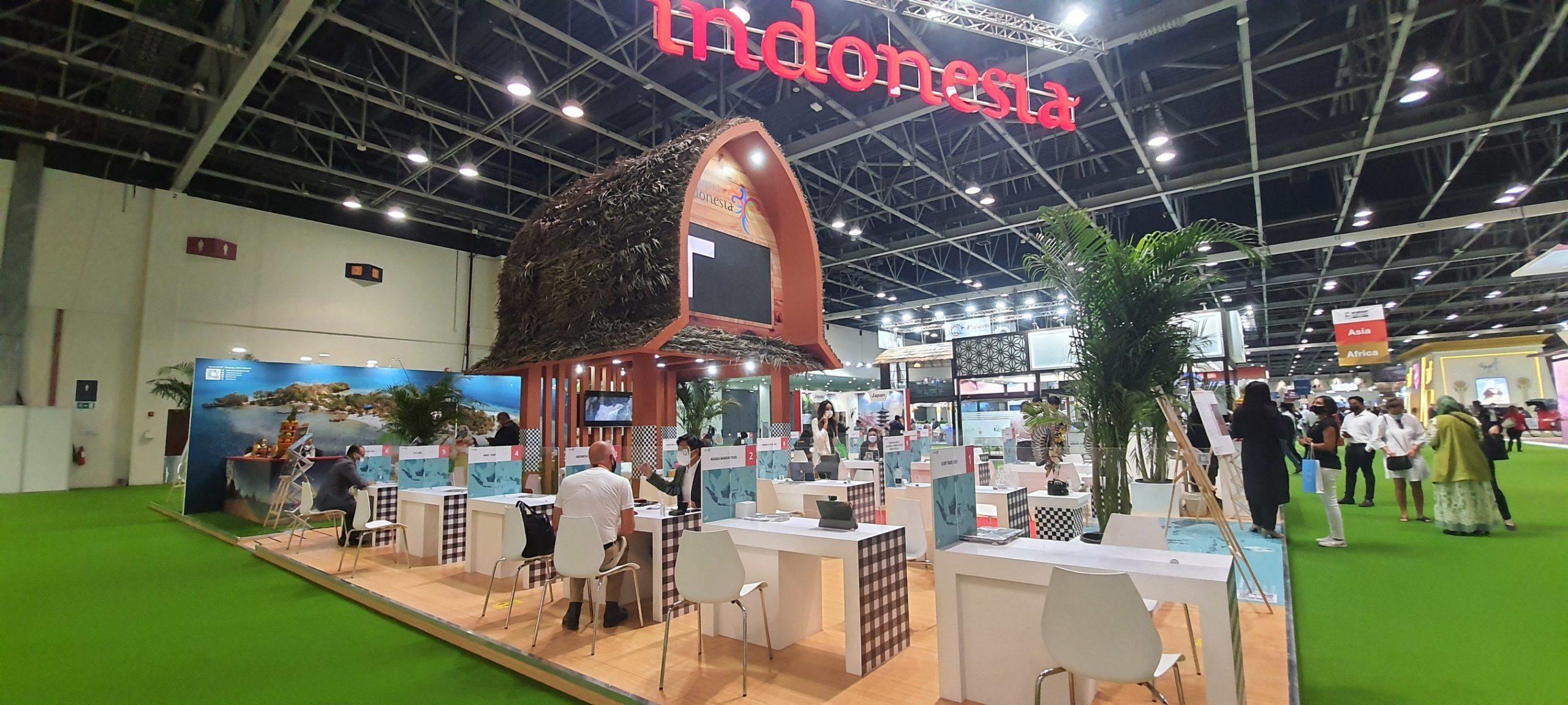 Indonesian Pavilion at Arabian Travel Market (ATM) Dubai 2021