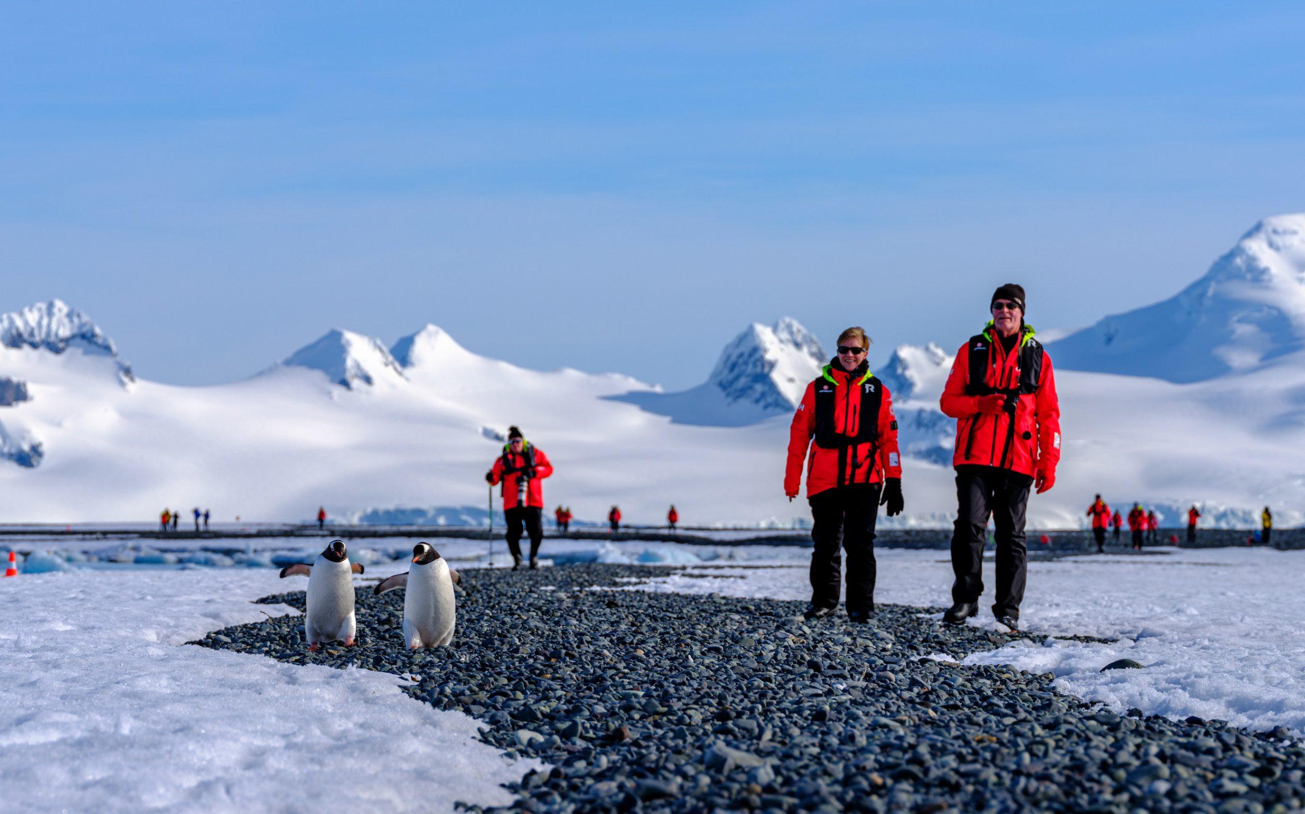 Landing MS Roald Amundsen HGR Photo Cred Dan Avila